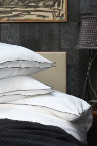 Rimini pillowcases off black